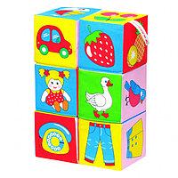 Кубики детские предметы