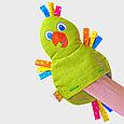 Игрушка с вишневыми косточками  попугай, фото 4