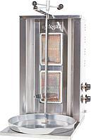 Донер аппарат газовый, 2-х горелковый, с ручным приводом