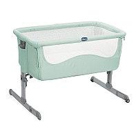 Кроватка-колыбель Chicco Next2Me (Dusty Green), фото 1