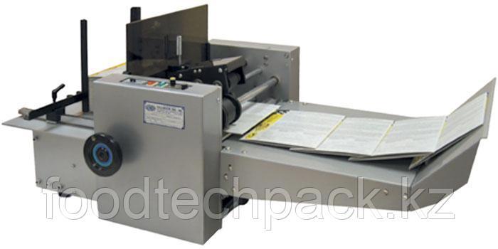 Настольная автоматическая флексографическая установка для маркировки  картонных карточек, сложенных коробок
