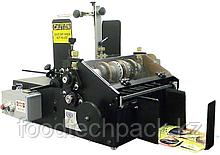 Усиленная автоматическая установка для маркировки выдавливанием картонных коробок и других плоских изделий.