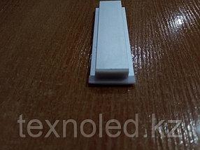 Алюминиевый профиль для Led 17*6 встраиваемый, фото 3
