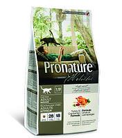 Pronature Holistic Adult Indoor - для домашних кошек, индейка с клюквой 340 гр.