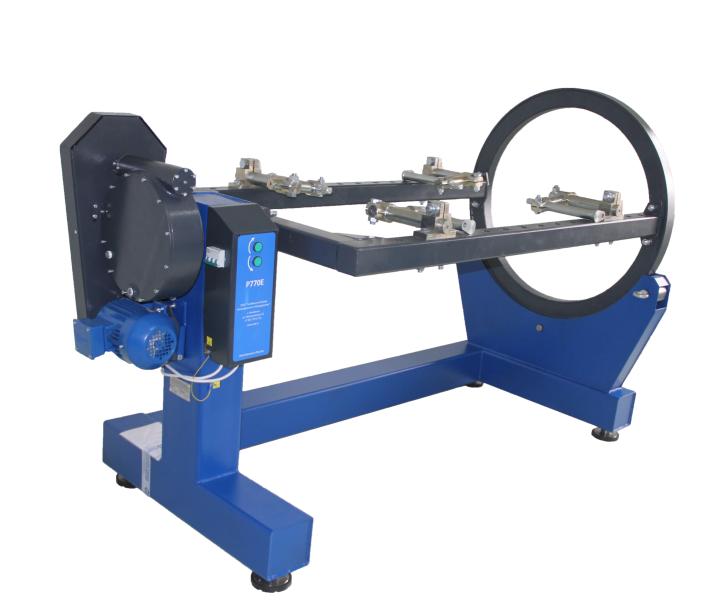 Стенд для разборки-сборки двигателей весом до 3000 кг - Р-776Е (ручной)
