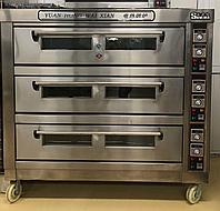 Шкаф пекарский электрический 3 - секционный