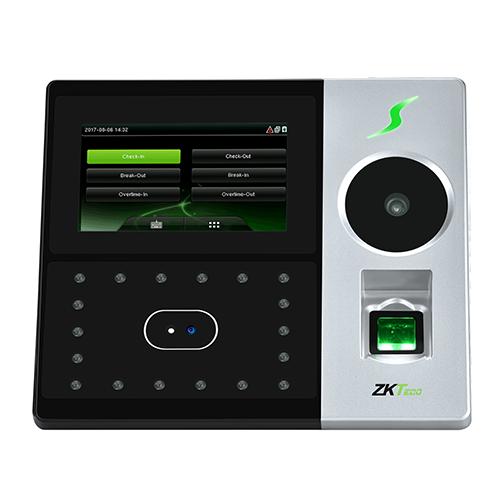Мультибиометрический терминал УРВ  ZKTeco РFace202
