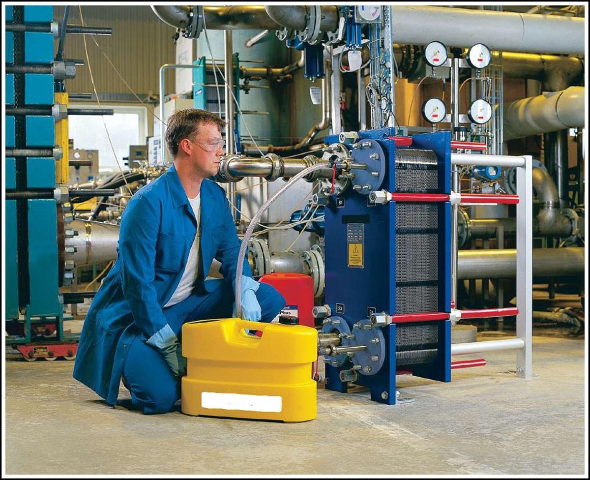 Техническое обслуживание и промывка теплообменников всех видов