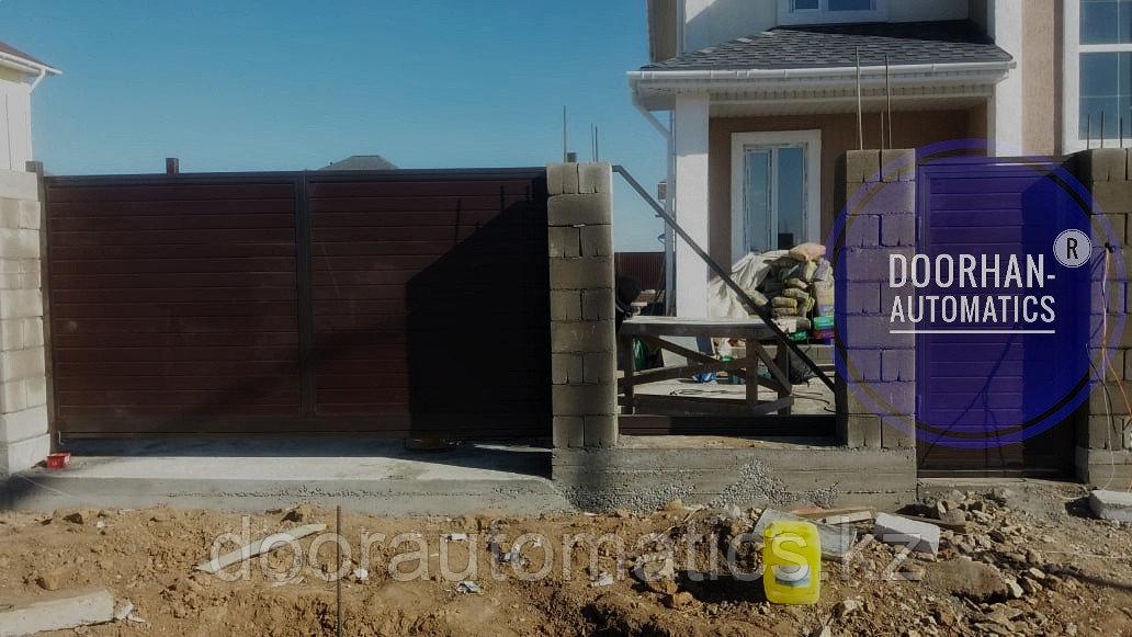 Ворота откатные - фото 2