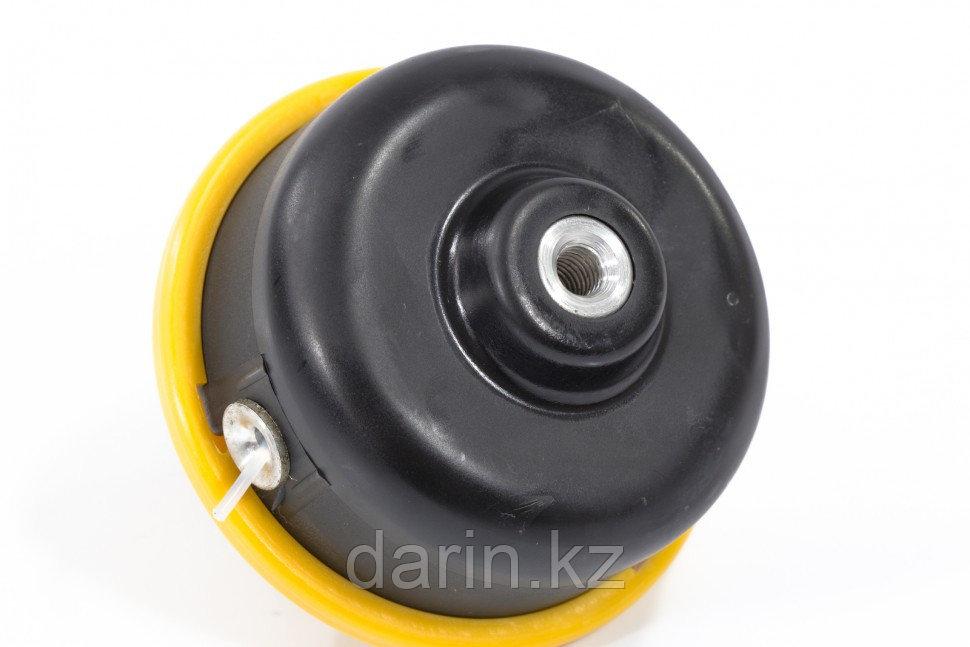 Катушка триммерная полуавтоматическая, легкая заправка лески, гайка M8x1,25, винт M8-M8 Denzel - фото 2