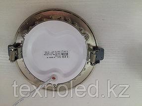 Светодиодный спот 9 W  круглый, белый, фото 3