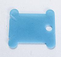Нитковдеватель пластиковый, голубой, 3 см