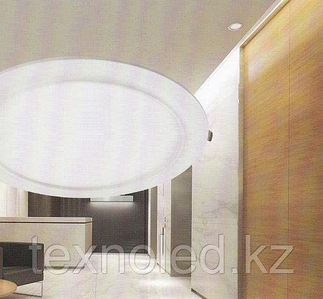 Светодиодный спот 9 W  круглый, белый, фото 2