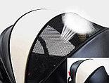 Детская прогулочная коляска Teknum 308, белая экокожа, фото 3