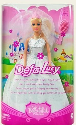 Defa Lucy Кукла Люси (29см) прекрасная принцесса в свадебном платье