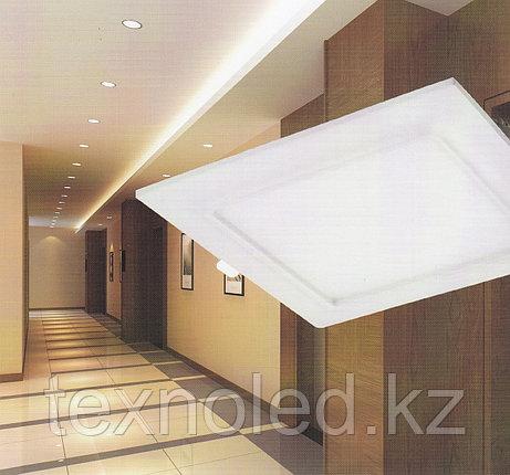 Светодиодный спот 9 W  квадрат, белый, фото 2