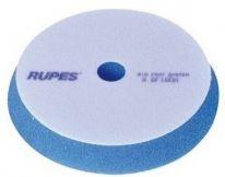 Полировальный круг на поролоне грубый 180 мм синий