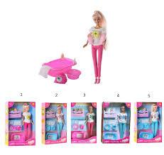 Defa Lucy Кукла (29см) с малышами и банными принадлежностями