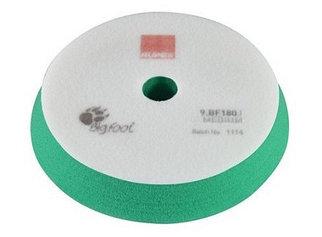 Полировальный круг на поролоне средней жесткости 150/180 мм зеленый