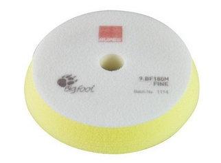 Полировальный круг на поролоне тонкий 150/180 мм желтый