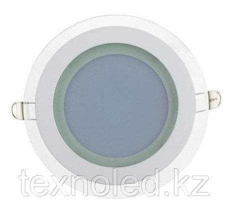Потолочный светильник круглый 12W со стеклом, фото 2