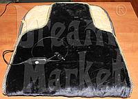 Накидка с подогревом на сидение, 12В, с регулятором, подогрев спинки и сидения, фото 1