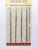 Вязальные крючки в наборе, 4 шт., 12 см