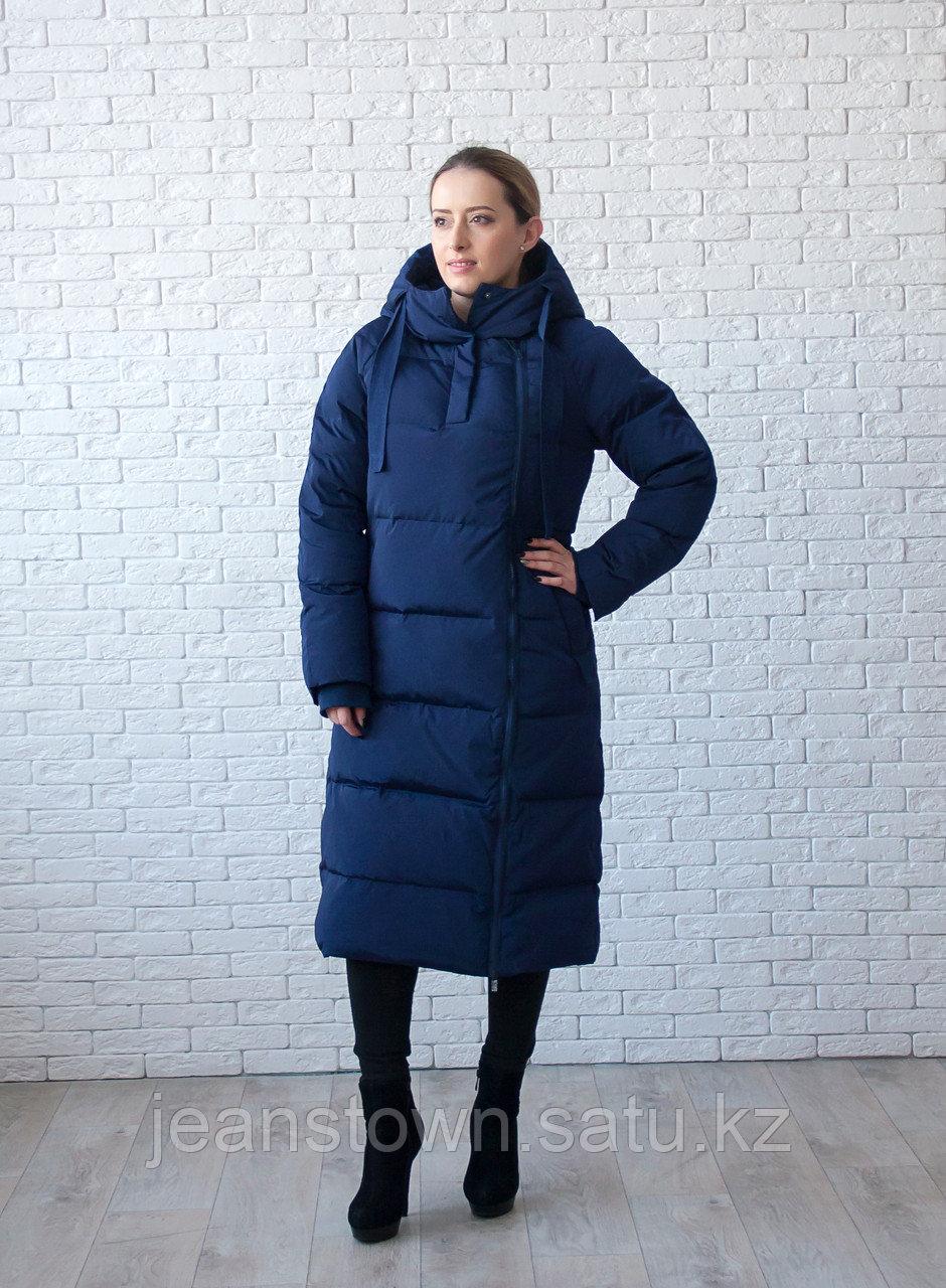Пуховик женский зимний Snowimage, синий