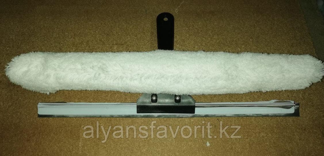 Металлическая стяжка с шубкой в комплекте (2 в 1)
