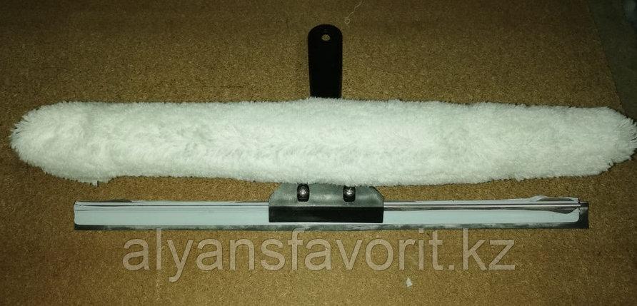 Металлическая стяжка с шубкой в комплекте (2 в 1) , фото 2