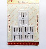 Иглы King Bird для швейных машин, # 14,16,18