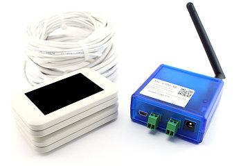 Проводной сетевой счетчик MegaCount MC-GSM-W (белый)