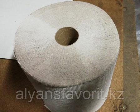 Бумажные полотенца рулонные (Казахстан), 23,3 см. 150 м. 6 рул/уп., макулатура, фото 2