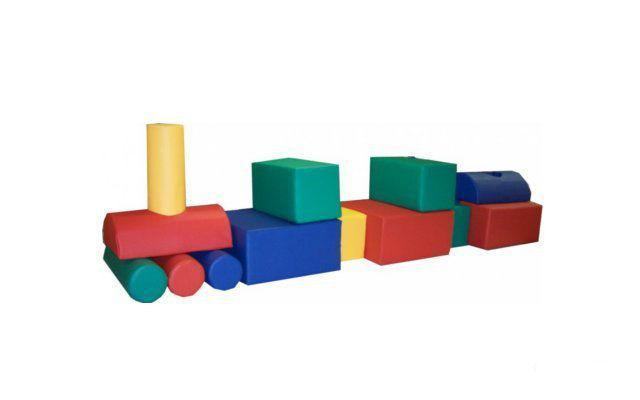 Трансформер  «Поезд» 14 элементов