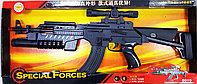 Автомат пластиковый J-Star Special Forces 8015 черный, световые и звуковые эффекты