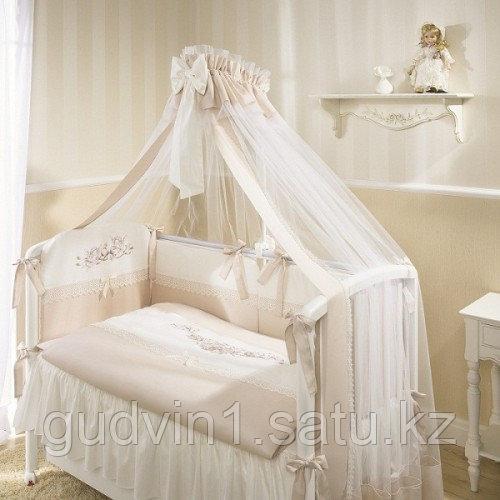 Комплект в кроватку Perina Эстель 4 предмета Э4-01.2