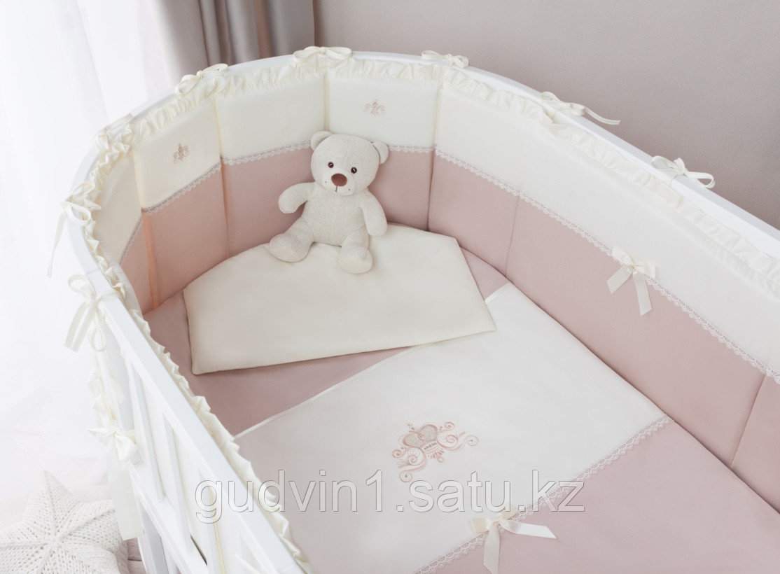 Комплект в кроватку Perina Эстель Oval 7 предметов 125х65