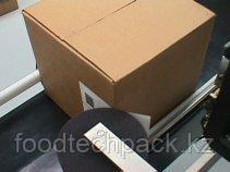 Оборудование для печати и наклейки этикеток на коробки