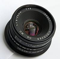 Обьектив Discover 25mm 1.8 for Sony Nex, фото 1