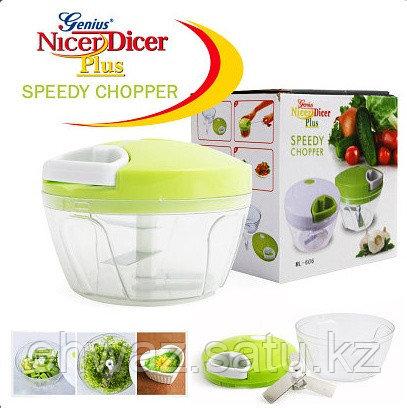 Ручной измельчитель овощей и фруктов Nicer Dicer Plus Speedy Chopper ML-606