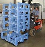 Автоматическая система для укладки готовых бутылей в стойки, фото 6