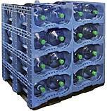 Автоматическая система для укладки готовых бутылей в стойки, фото 8