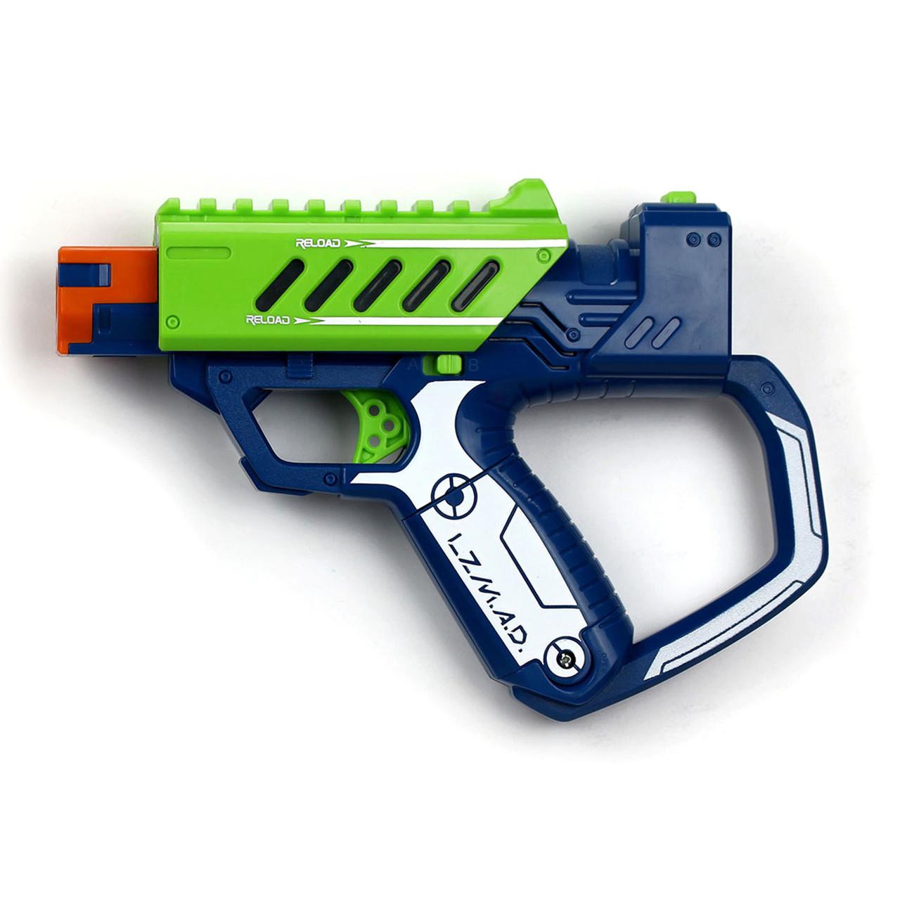 Лазерное оружие Lazer MAD Тренировочный набор (1 бластер, 3 мишени)