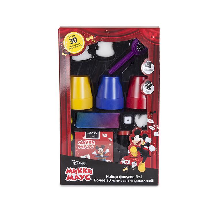 """Набор для демонстрации фокусов №1 Disney """"Mickey Mouse"""" (30 фокусов, DVD, 17х6,5х27 см)"""