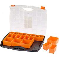Органайзер с контейнерами 425 х 330 х 60 мм, пластик, Россия Stels, фото 1