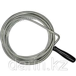 Трос для прочистки труб, L-5 м, D 6 мм Сибртех