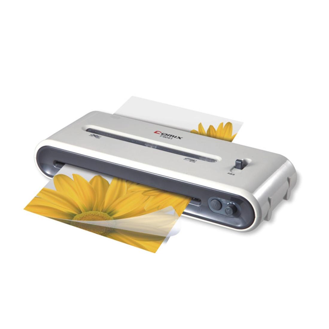 COMIX, F9061, Ламинатор А4 рекламных материалов, фотографии, грамоты, рисунки, открытки, визитки