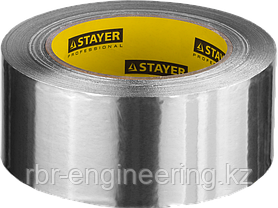 Лента клейкая алюминиевая, 50мкм, 75мм х 50м, STAYER Professional, фото 2