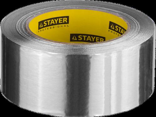 Лента клейкая алюминиевая, 50мкм, 50мм х 25м, STAYER Professional, фото 2