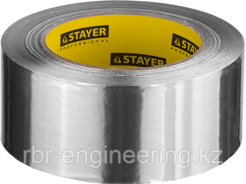 Лента клейкая алюминиевая, 50мкм, 50мм х 10м, STAYER Professional, фото 2